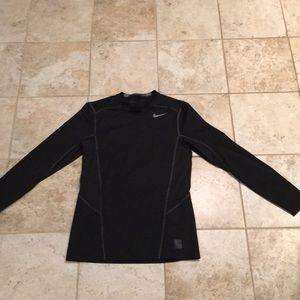 Nike Black Athletic Long Sleeve Shirt
